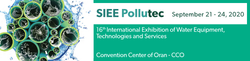 visit us at the SIEE Pollutec Exhibition of Water Equipment , Technologies and Services 2020 in Algeria