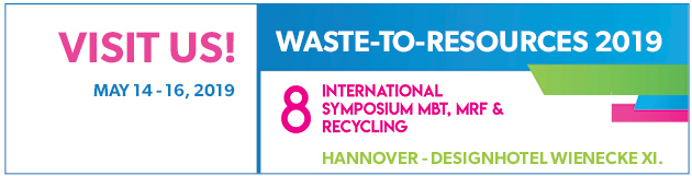 WEHRLE at Waste-to-Resources 2019 in Hannover