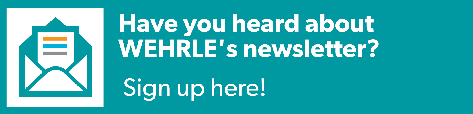 Sign up for our Newsletter! - WEHRLE