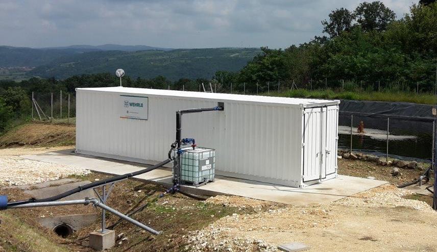 Ejemplo contenedor de ósmosis inversa - osmosis inversa para tratamiento de lixiviados