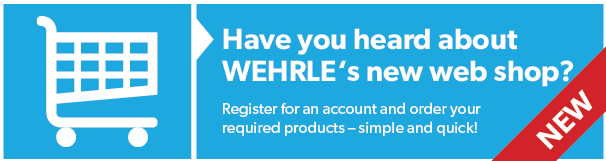 WEHRLE Web Shop - order simple and quick