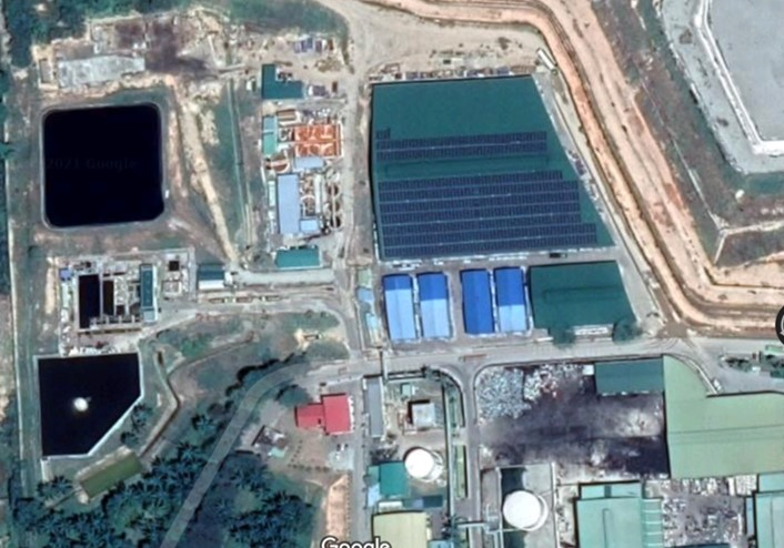 Quelle: Google // Behandlung von Sickerwasser aus einer Reststoffdeponie in Malaysia - WEHRLE
