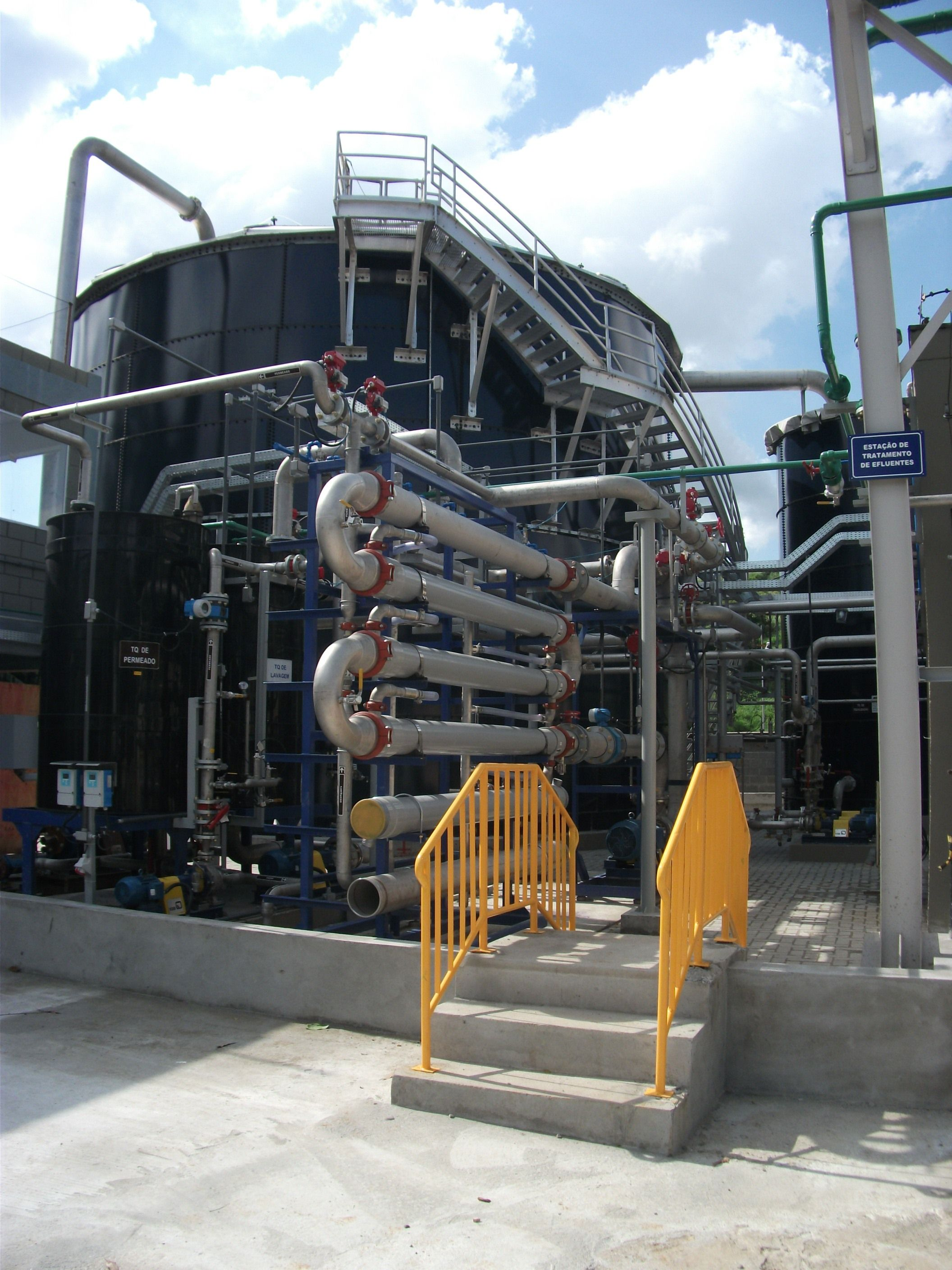 WEHRLE industrial wastewater treatment plants