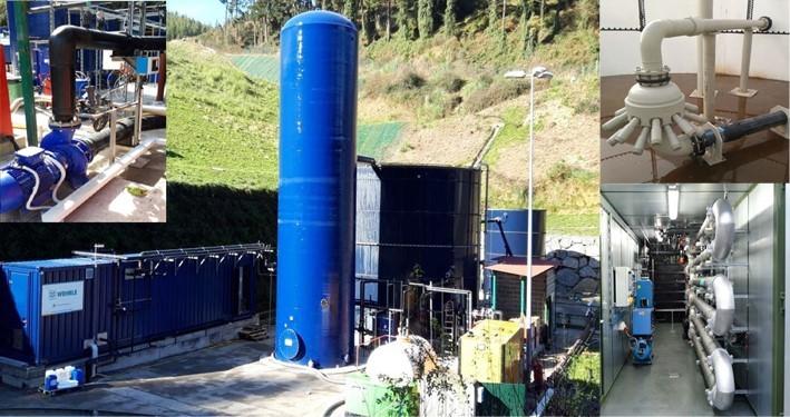 После  - Очистные сооружения на полигоне ТКО IGORRE Landfill, Испания - WEHRLE
