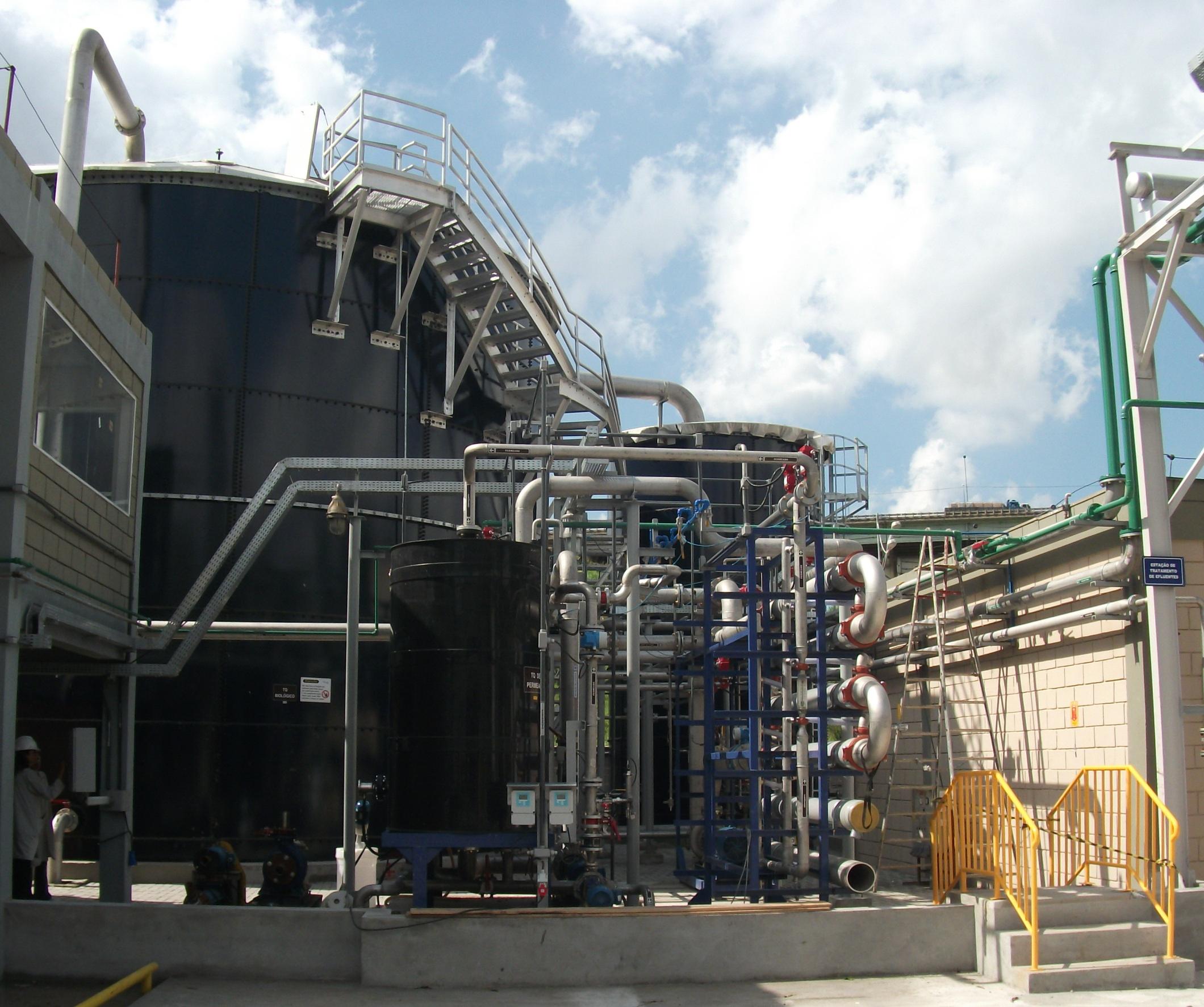 WEHRLE Behandlung chemischer, pharmazeutischer & kosmetischer Abwässer - Abwasserbehandlungsanlage eines Hormonherstellers in Brasilien (Diosynth)