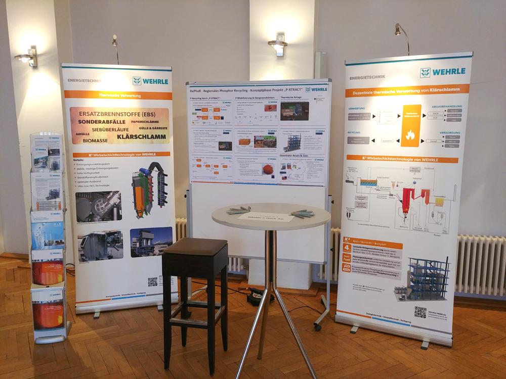 Wirbelschichttechnik und Phosphor-(P)-Recycling Konzept auf dem P-Kongress