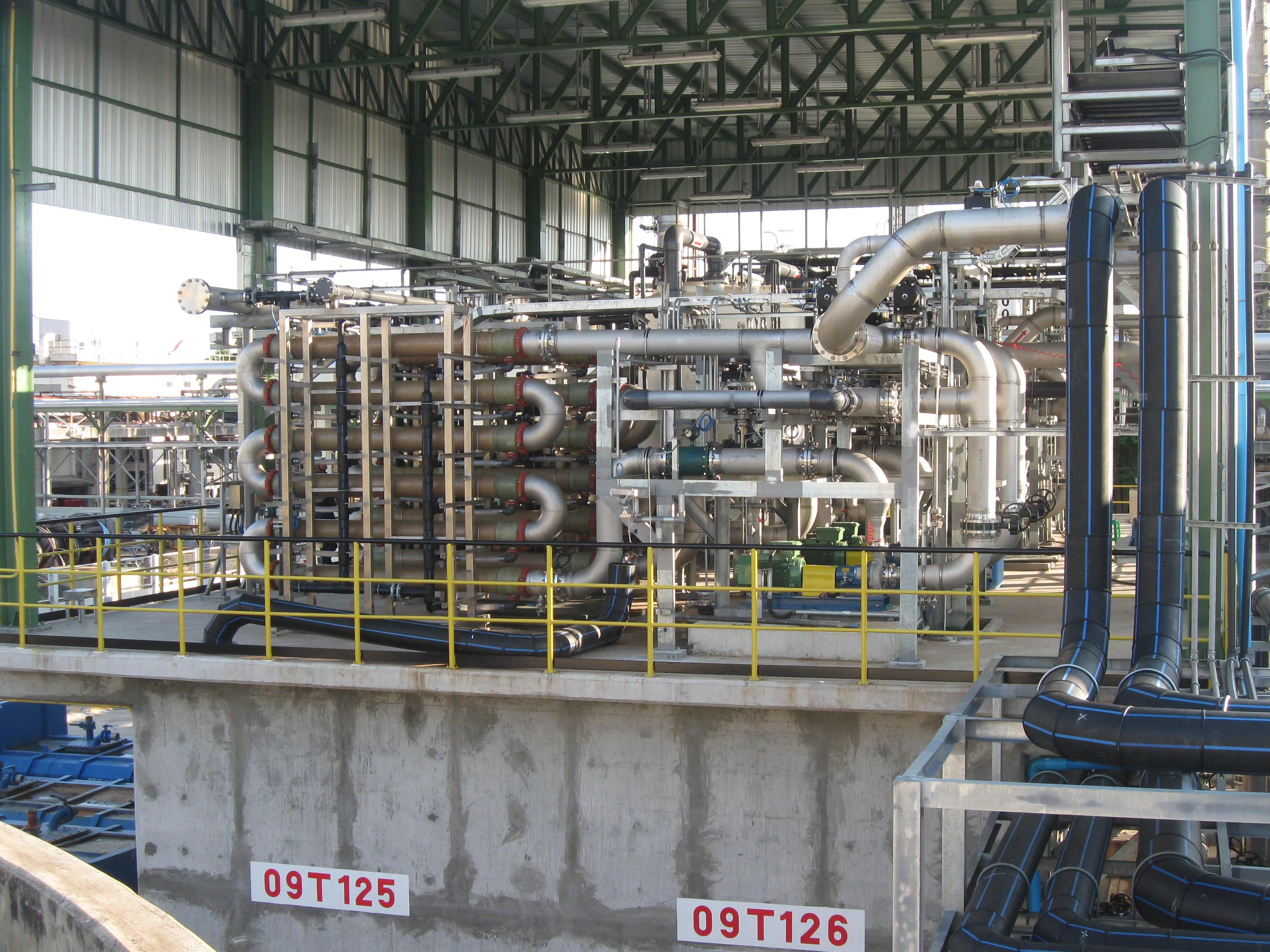 Prozesswasserversorgung, Prozesswasseraufbereitung, Prozesswasserbehandlung  - WEHRLE Technologie