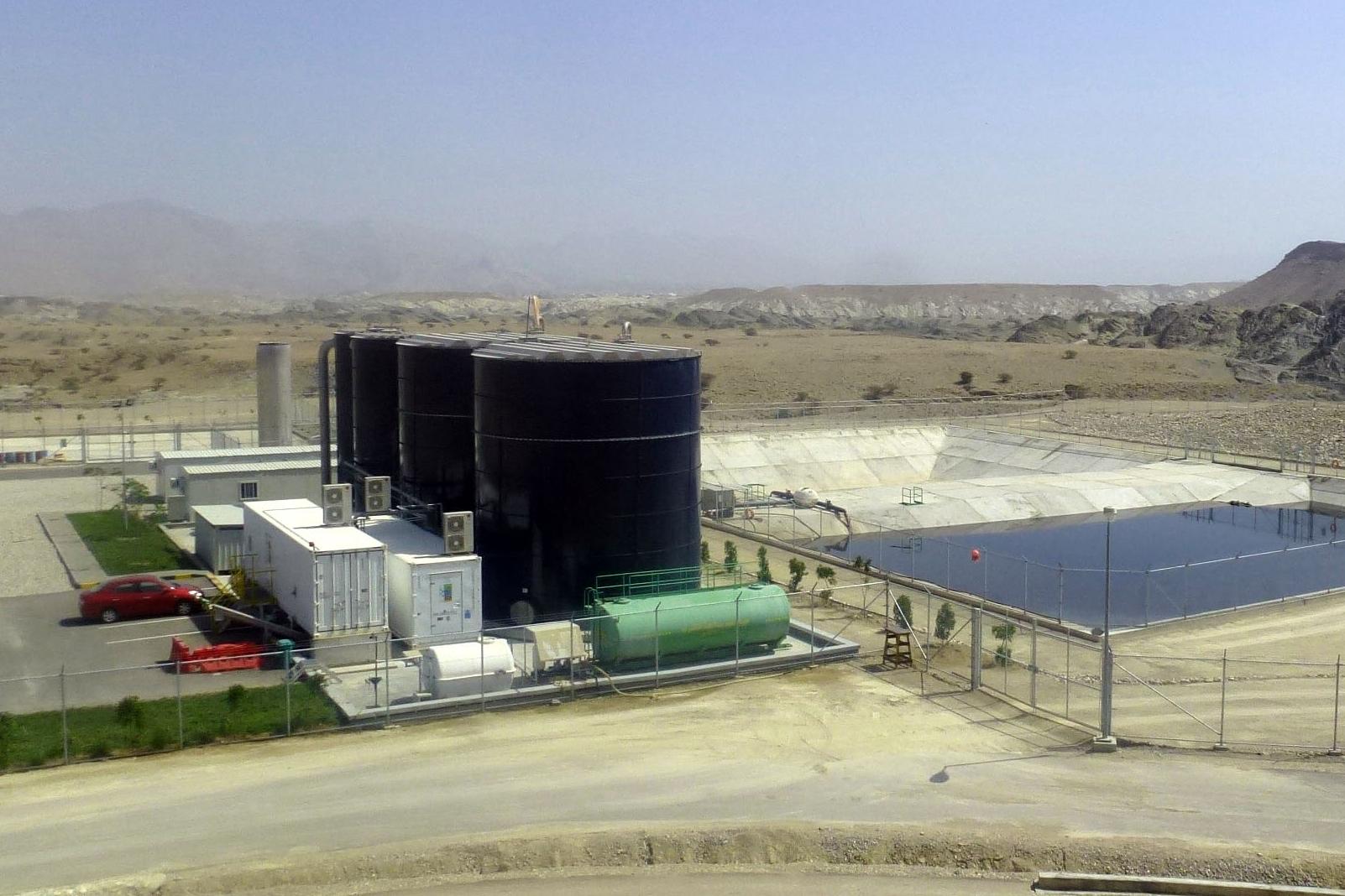 landfill leachate treatment plant - LTP Al Mutaqa, Oman - BIOMEMBRAT<sup>®</sup> - WEHRLE