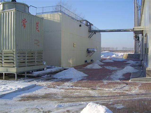Переработка ТБО - Очистка фильтрата полигона компанией WEHRLE в г. Харбин (Китай) при -30°C
