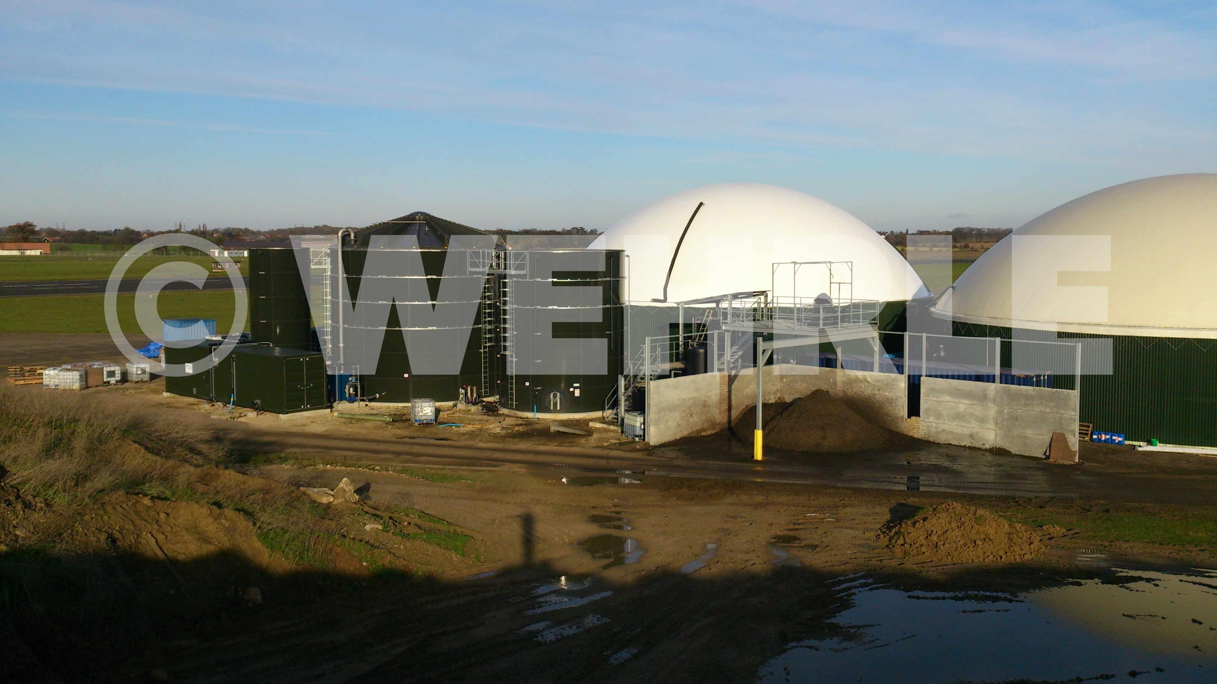 Очистные сооружения дигестата | Навозные стоки | Дигестат | WEHRLE