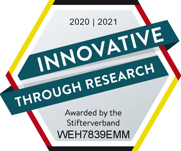 WEHRLE receives innovative through research seal