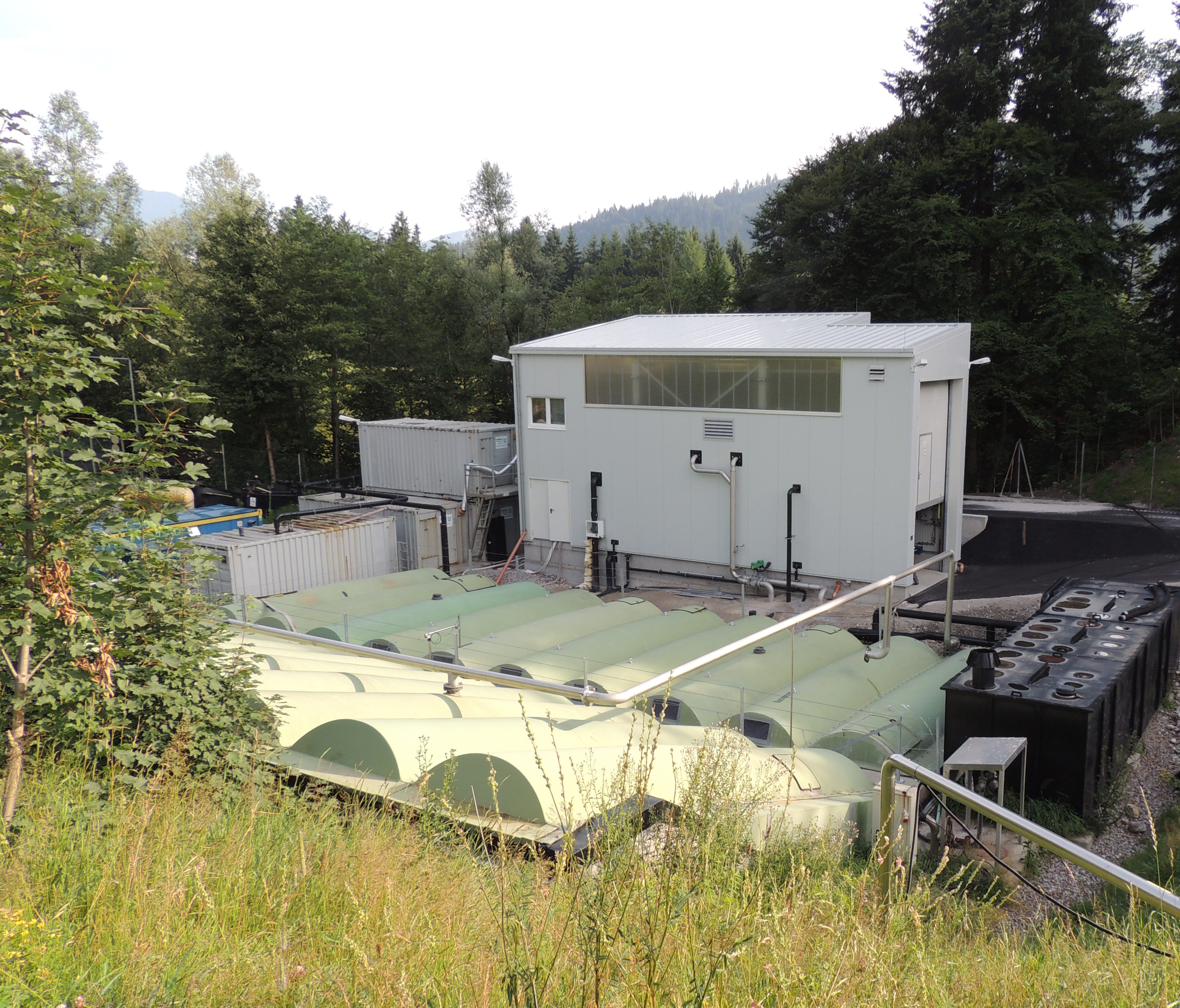 leachate treatment plant WEHRLE - 2010, Land Tirol: Betrieb / Operation 2010-2011, Woergl, Riederberg (Austria)