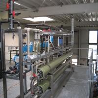 Wasserrecycling in der Wäscherei