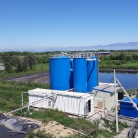 Pig slurry treatment plant / BIOMEMBRAT® MBR Container