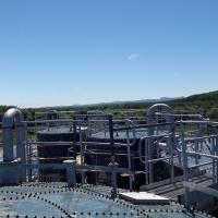 Биореактор/ Очистные сооружения для очистки свиных навозных стоков/ BIOMEMBRAT® МБР