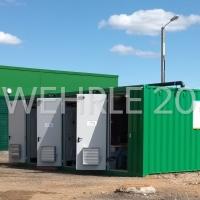 Erste Containeranlage von WEHRLE zur Reinigung von Deponiesickerwasser in Russland