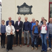 Projektgruppe WEISS zu Gast bei WEHRLE Umwelt