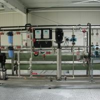Nanofiltration (type de construction : «feed & bleed»)