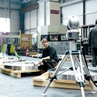Maßhaltigkeitsprüfung mit dem Laser Tracker - WEHRLE Service vor Ort