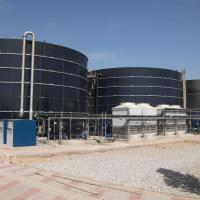 Anlage zur Behandlung von Sickerwasser Djebel Chekir, Tunesien - BIOMEMBRAT® MBR - WEHRLE