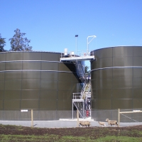 Waste water treatment (seasonal) in a Cheese dairy with BIOMEMBRAT®