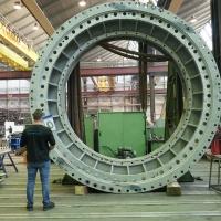 Bearbeitung von Großkomponenten - Revision Pumpen für Kraftwerk