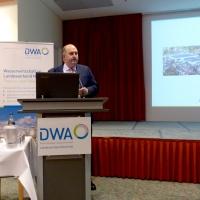 Christian Eder von WEHRLE beim DWA Klärschlammnetzwerk Nord-Ost