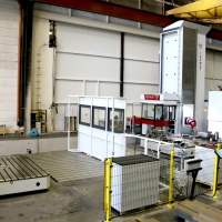 Fermat CNC drilling machine – mechanical processing of large parts at WEHRLE