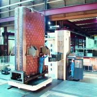 Parpas Bohrwerk inklusive Kesselbauteil - Bohrbearbeitung von Großteilen bei WEHRLE