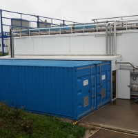 Container Package Plant for Zero Liquid Discharge (ZLD)