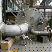 Couvercle d'un réacteur sous pression – Constructions soudées de WEHRLE