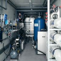 WEHRLE DIRECT-RO - Sickerwasserbehandlungsanlage in Containerbauweise