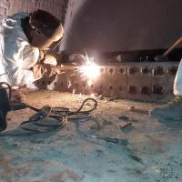 Ecotherm Rostrevision – Reparatur Beschickung, Aufgabevorrichtung