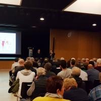 Bürgerinformationsveranstaltung zum Thema Klärschlammverwertung in Breitenhart - Erläuterung des Verfahrensschemas