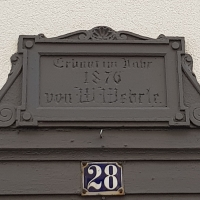 Gebäudeeingang in der Theodor-Ludwig-Strasse