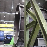 Mechanical processing of large parts   WEHRLE
