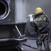 Oberflächenbehandlung - Großteilebearbeitung