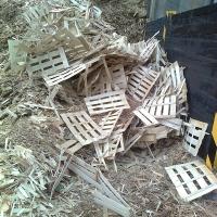 Altholz unaufbereitet