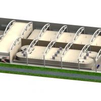 Concept pig slurry treatment with BIOMEMBRAT® MBR