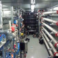 Güllebehandlung - Gülleaufbereitung - BIOMEMBRAT® MBR zur Behandlung von Schweinegülle / Container