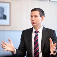 Heiner Steinberg, Vorstand der WEHRLE-WERK AG