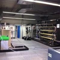 Tratamiento de efluentes procedentes de la fabricación de productos de hygiene corporal y de limpieza