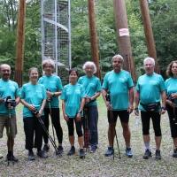 Fitness für alle - Mit Begeisterung dabei war eine Gruppe der WEHRLE-WERK AG, angeführt von Annegret Steinberg. (Foto: Badische Zeitung)