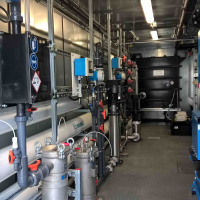 Industrial Water Recycling - Package Plant - Container solution