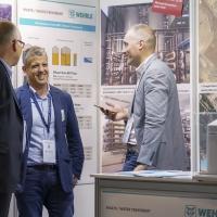 Pablo García Gonzalez und Frank Natau im Gespräch auf der ISWA Bilbao 2019