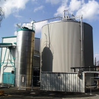 Anaerobic treatment from MBT waste water with BIODIGAT® AS