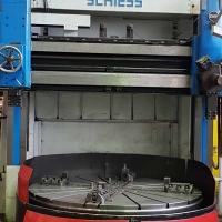 Karusselldrehmaschine Schiess - mechanische Bearbeitung von WEHRLE