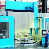 Toshuling carousel lathe at the WEHRLE Manufacturing Division in Emmendingen