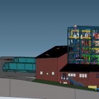 Klärschlammmonoverbrennungsanlage K³sludge für 3t/h bzw. 3,75 MWth komplett