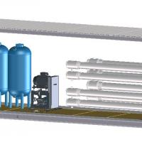 Контейнерная установка WEHRLE с прямым обратным осмосом - Прямой обратный осмос